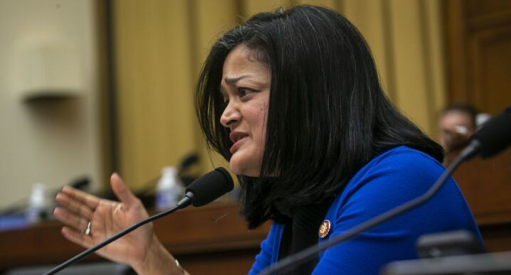 Rep. Pramila Jayapal (D-Wash.) was one of several Democrats at a House Judiciary subcommittee hearing May 16, 2019, pushing for legislation to limit the use of mandatory arbitration clauses in contracts.
