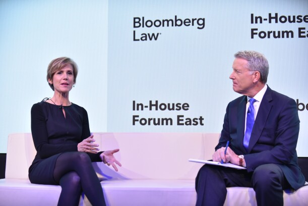 Sally Yates: Live from Bloomberg Law's In-House Forum