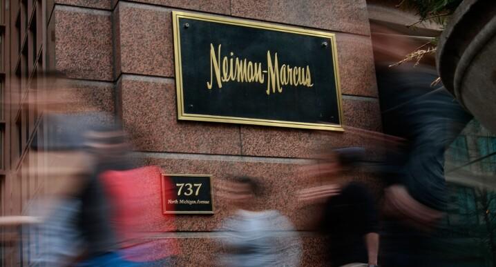 Neiman Marcus store (used 10/18/