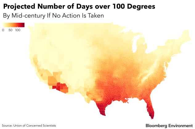 'Killer Heat' Days to Surge Without Climate Action: Report (1)