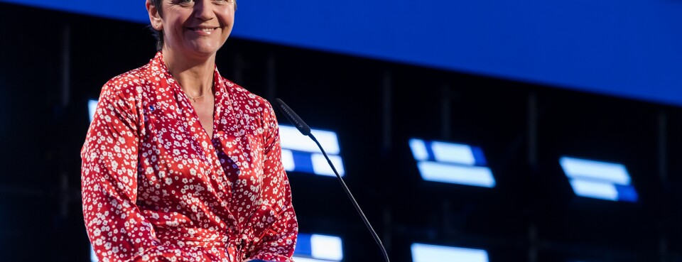 Vestager Gears Up for Tech Czar Role With Warning Over Data