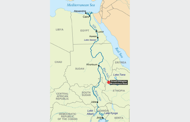 Is A Water War About To Break Out Along The Nile Bloomberg