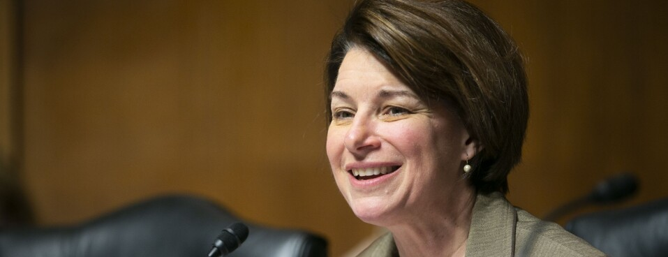 Sen. Klobuchar for health privacy bill may 14 20