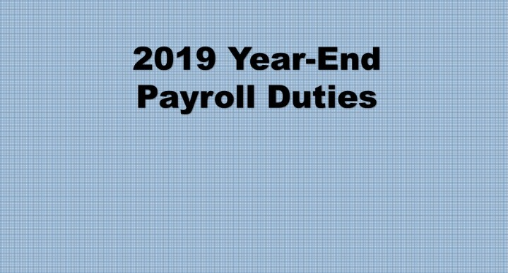 New Withholding Tax Rates 2020.Payroll News