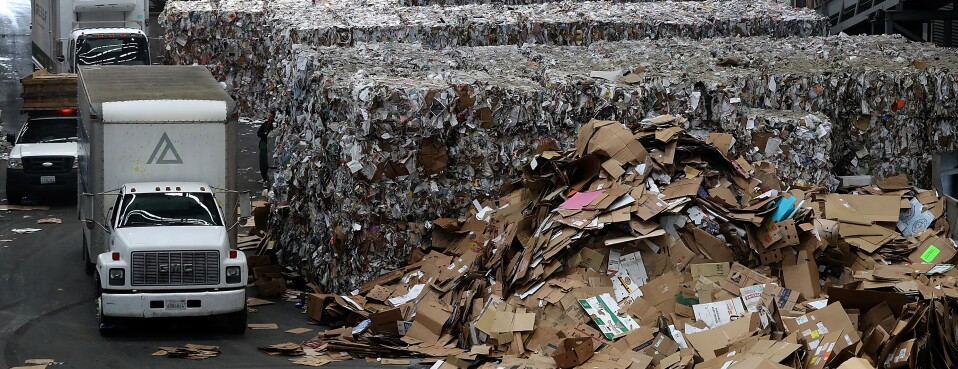 U S  Recycling Woes Pile Up as China Escalates Ban