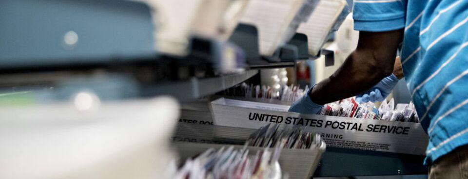 U.S. postal service worker (used 4/30/10)