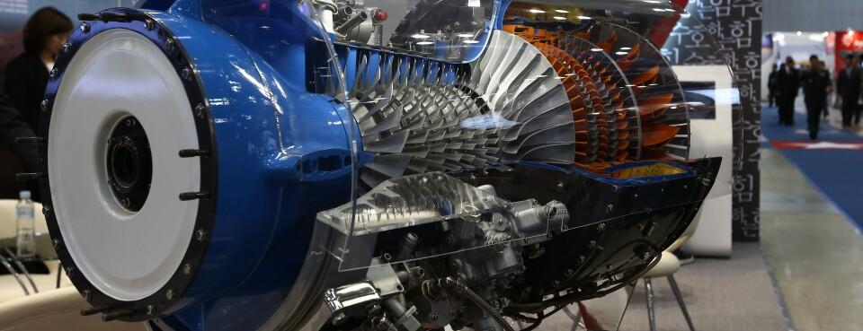 Honeywell aircraft engine (used 3/8/18)