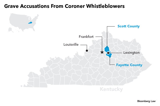 Harassment, Guns: Can Whistle-Blowers Kill Ky  Coroners