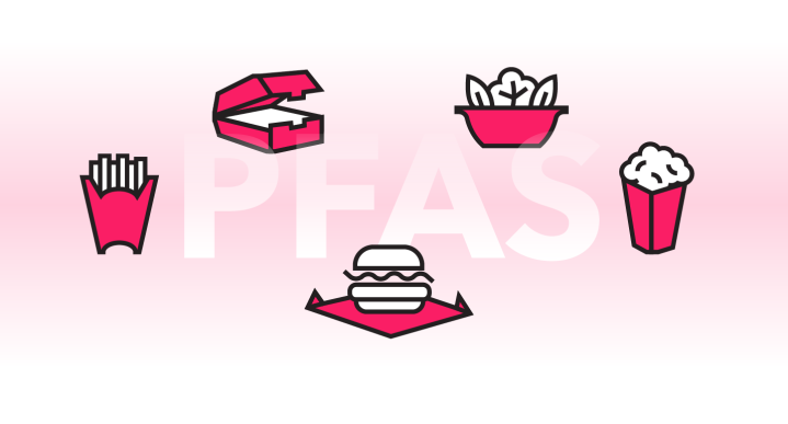 pfas food container