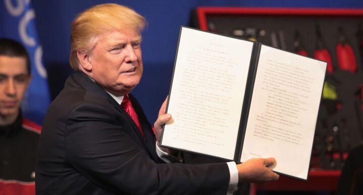 Trump w/ H-1B order dlr 5/16/19
