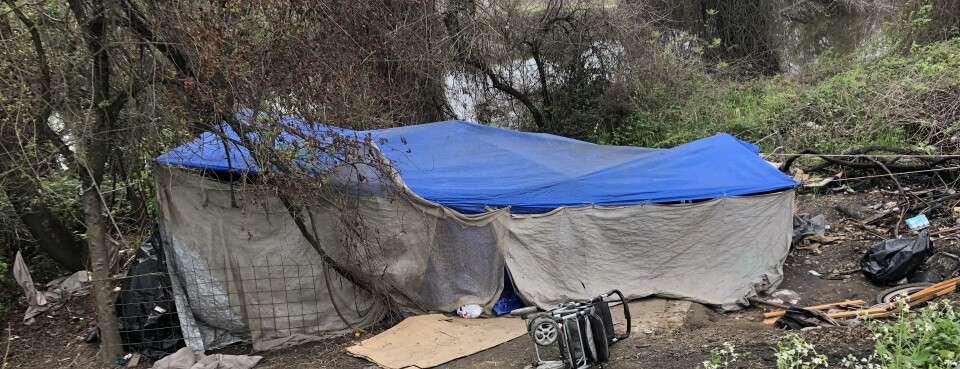 Sacramento Faces Flooding Threat From Homeless People's