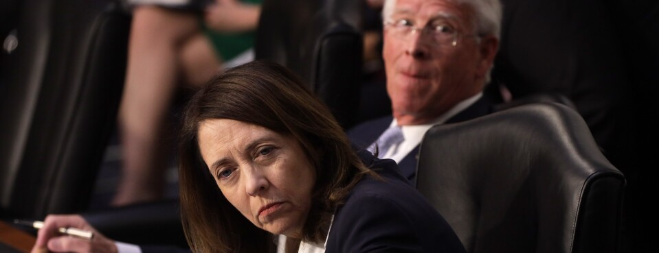 Maria Cantwell and Roger Wicker