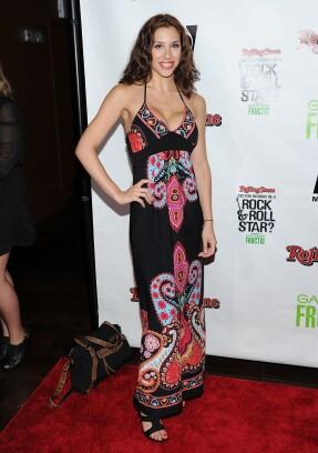 Diana Falzone attends a Rolling Stone event in 2011.