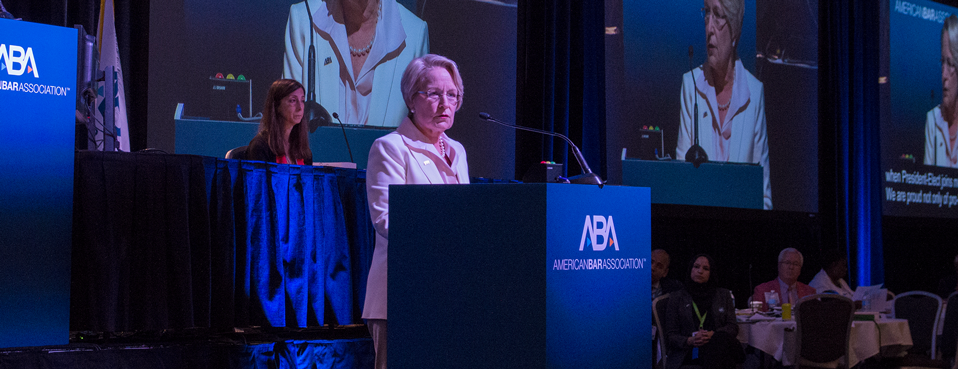 New American Bar Association President Looks to Build Membership