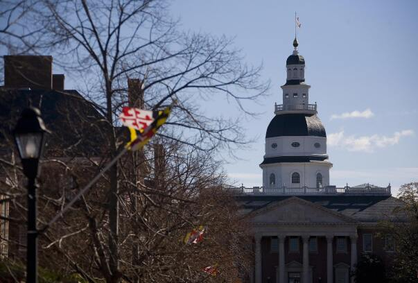 Maryland capitol.