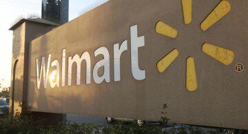Photo of a Walmart store.
