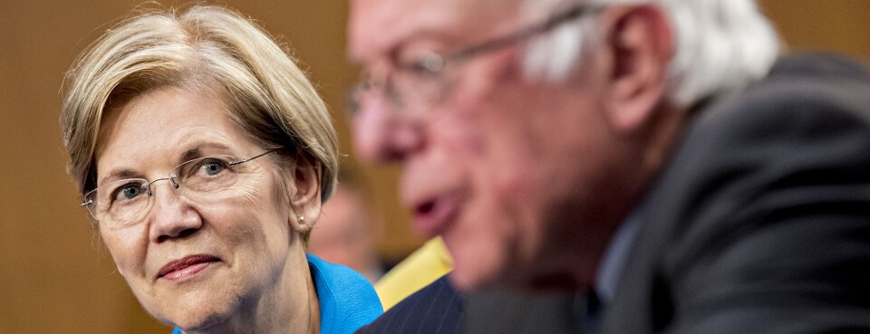 Sens. Bernie Sanders and Elizabeth Warren are likely to use the Senate HELP Committee's agenda as jump-off points to highlight health-care and other policy platforms in their likely 2020 White House bids.