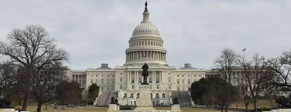 The U.S. Capitol is seen in Washington. Funding for several agencies could expire if Congress and the White House fail to reach a spending deal by Dec. 21.