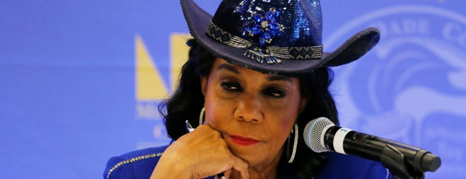 Rep. Frederica Wilson (D-Fla.), pictured here in October 2017, spoke in favor of the PRO Act during a May 8, 2019, hearing on the PRO Act. The hearing marks the first time Democrats have floated pro-union legislation since taking control of the House in the last election.
