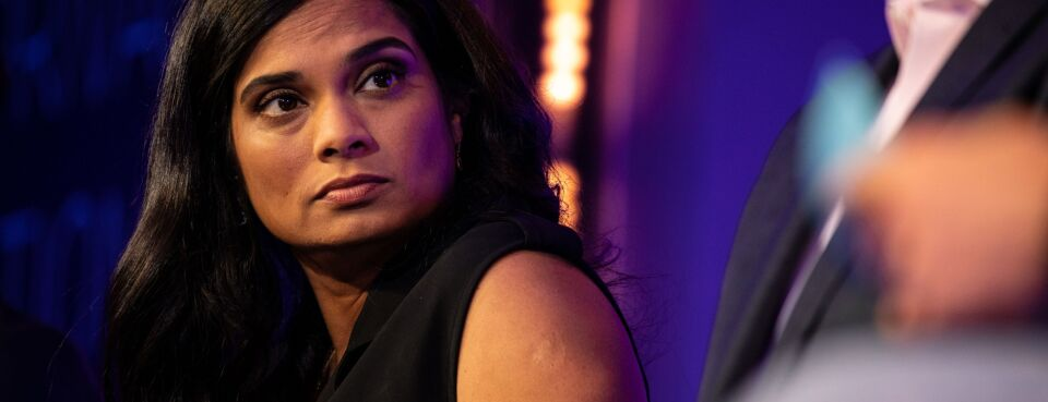 Vijaya Gadde, chief legal officer of Twitter Inc.
