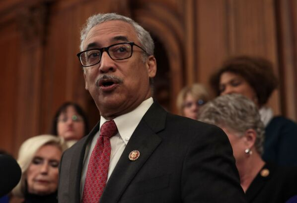Rep. Bobby Scott (D-Va.) speaks during a news conference at the U.S. Capitol on Jan. 30, 2019, in Washington.