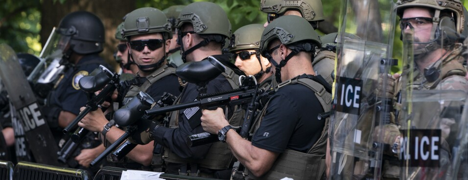 Defense Bills Targeted to Cut Off Military Gear to Police Forces