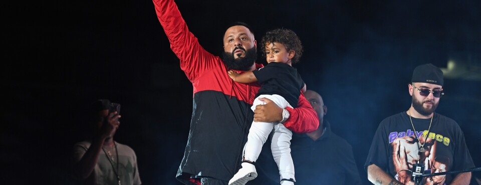DJ Khaled Adds Trademark Claims for Company's Use of Son's Name