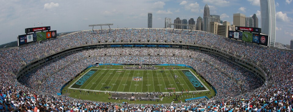 fff02cfb NFL's Carolina Panthers Say Stadium Overvalued by Almost $500M