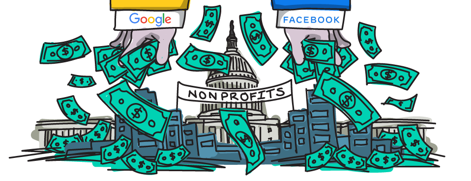 Facebook, Google Fund Nonprofits Shaping Federal Privacy Debate
