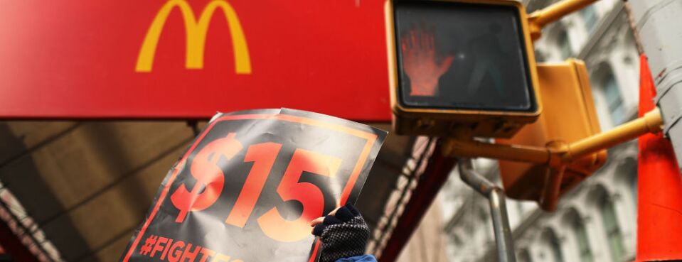 McDonald's Workers Criticize 'Joint Employer' Rule Proposal (1)
