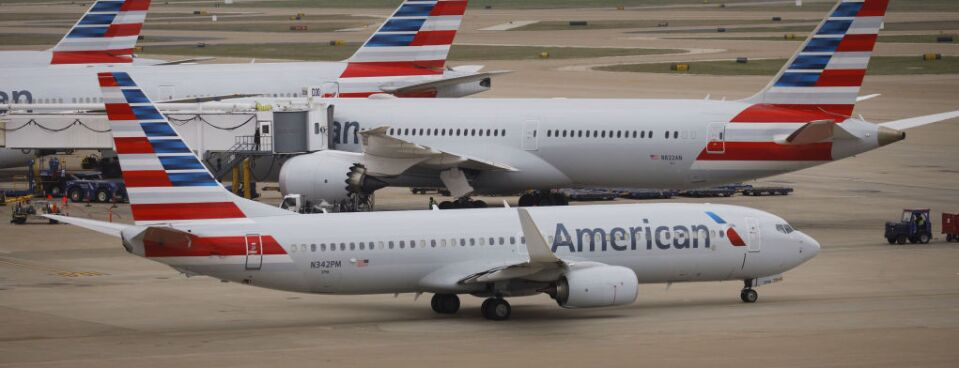 Former Flight Attendants Sue American Airlines Over Travel