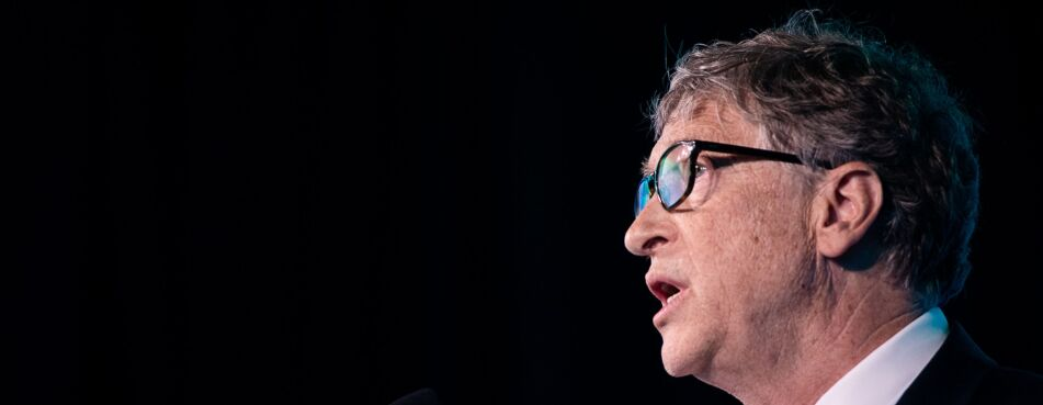 Gates Says Virus Death Toll May Not Reach Experts' Worst Case