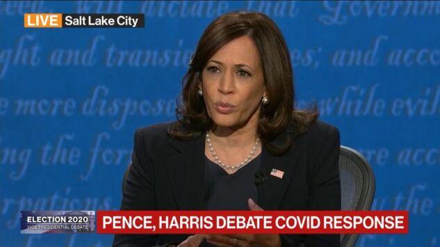 Harris Rips Trump Over Virus As Pence Hits Biden On Taxes Court