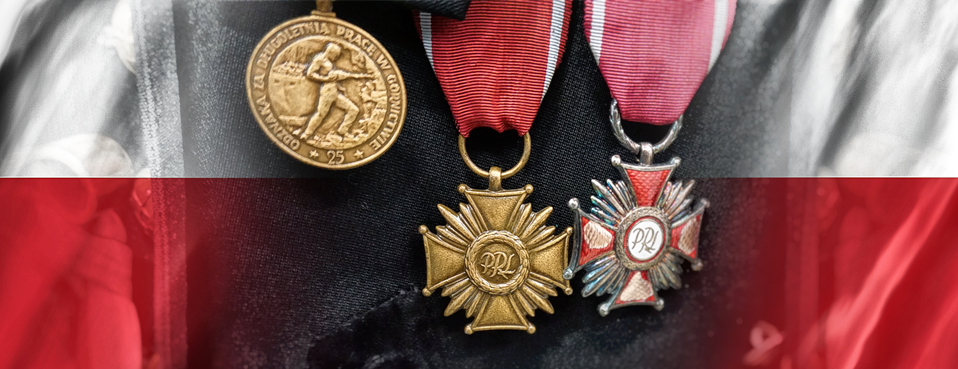 Miners wear traditional black uniforms that they adorn with medals for their work.