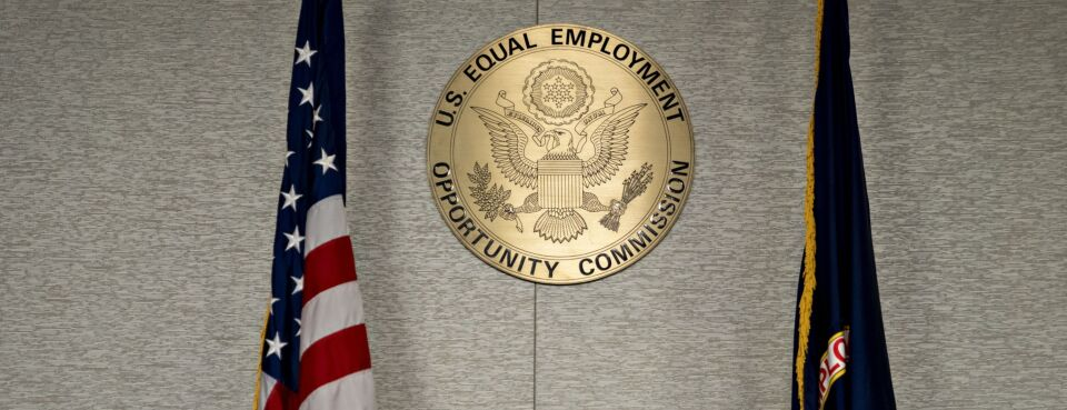 Photo of EEOC seal.